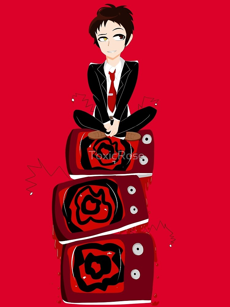 Adachi The TV King by ToxicRose