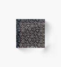 Midcentury Modern Dots 22 Acrylic Block