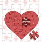 Valentine (228 views) by aldona