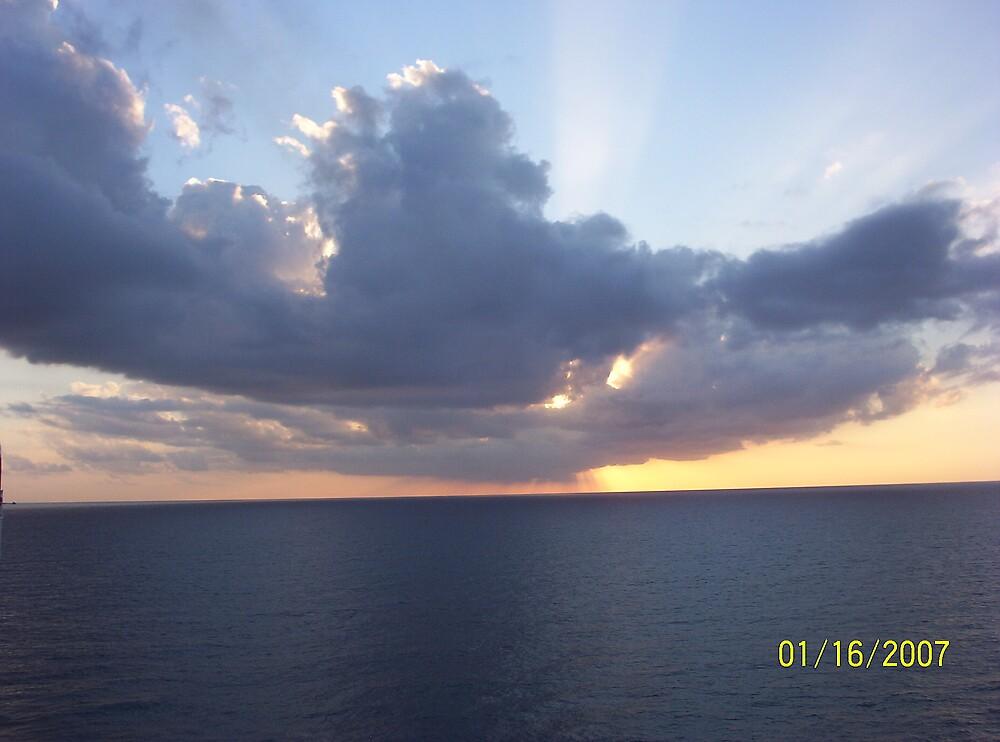 Caribbean Sunset by 116hebert