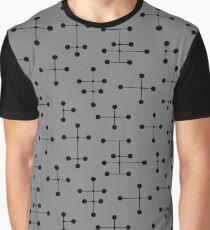 Midcentury Modern Dots 111 Graphic T-Shirt