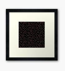 Midcentury Modern Dots 131 Framed Print
