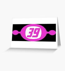 Space Channel 39 Greeting Card