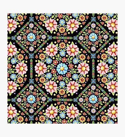 Millefiori Floral Photographic Print