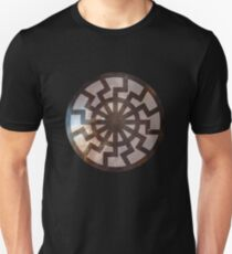 Sun Wheel (space) Unisex T-Shirt