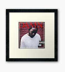 DANG. Framed Print