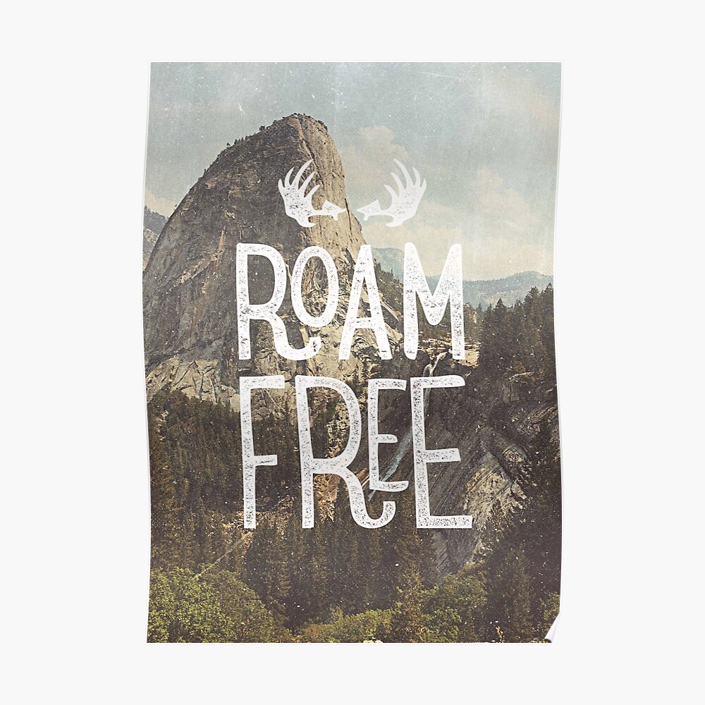 ROAM FREE Poster