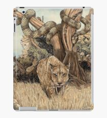Smilodon & Titanoboa iPad Case/Skin
