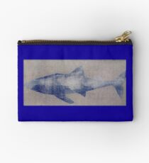 SHARK SILVER GREY Studio Pouch
