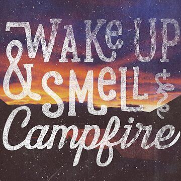 despierta y huele la fogata de cabinsupplyco