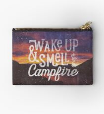 wake up & smell the campfire Studio Pouch