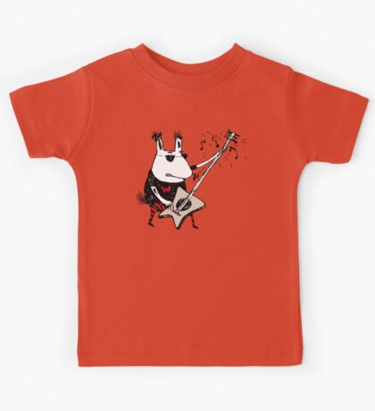 Wild Guitar Wolf  Kids Clothes