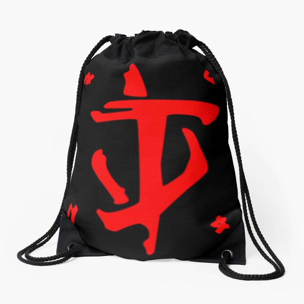 Mark of the Doom Slayer - Red Drawstring Bag