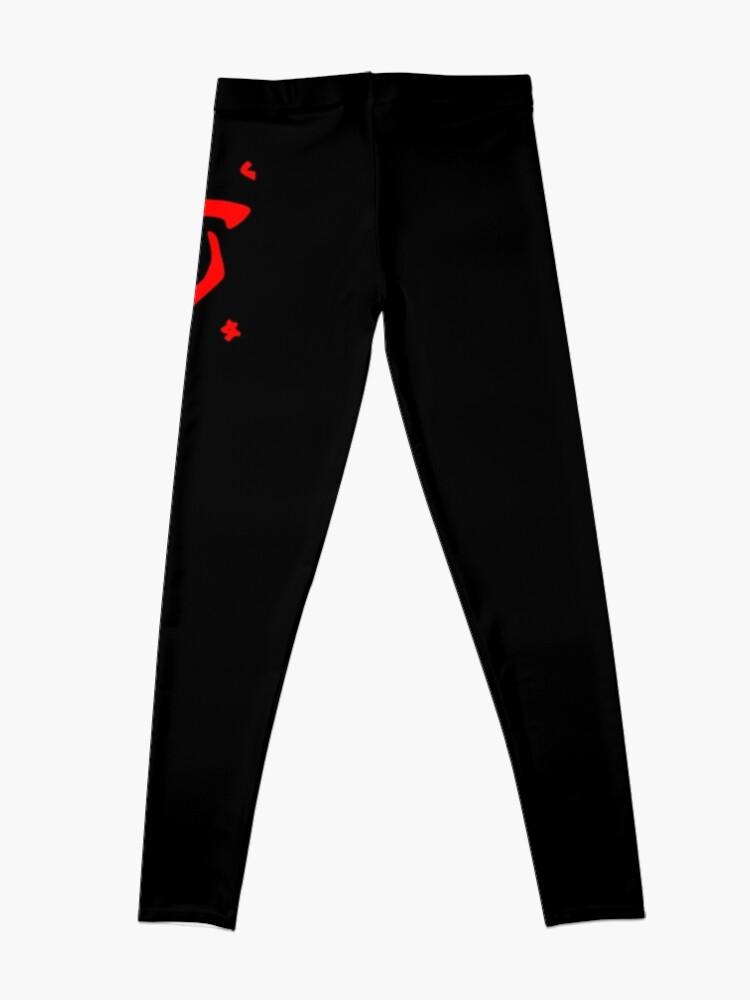 Alternate view of Mark of the Doom Slayer - Red Leggings