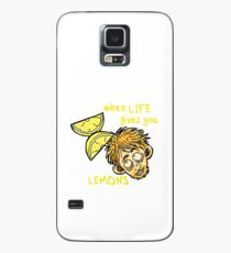 """Rickety Cricket """"When Life Gives You Lemons"""" Case/Skin for Samsung Galaxy"""