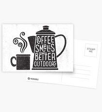 Postales El café huele mejor