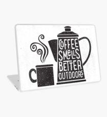 Coffee Smells Better Laptop Skin