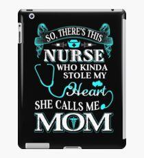 Nurse Mom iPad Case/Skin