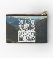 On Top Of Mountains Studio Pouch