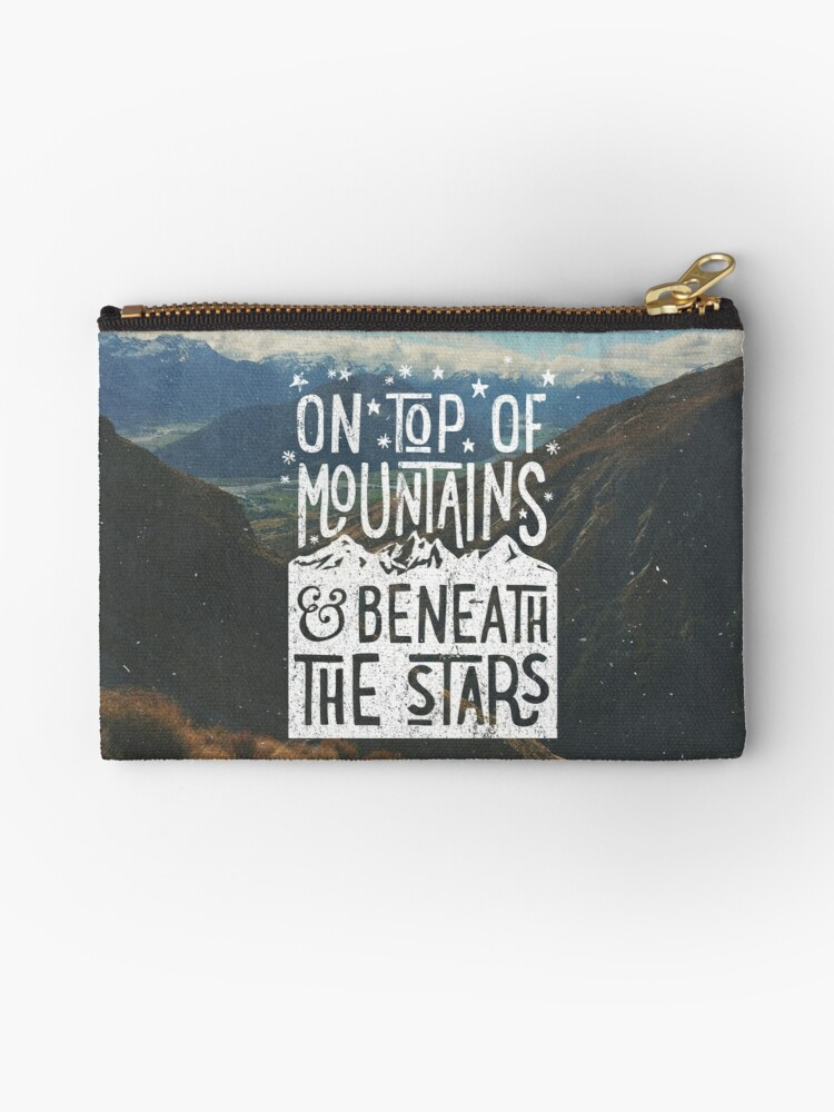 On Top Of Mountains by cabinsupplyco