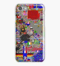 Reddit /r/Place 12K resolution (30 hours) iPhone Case/Skin