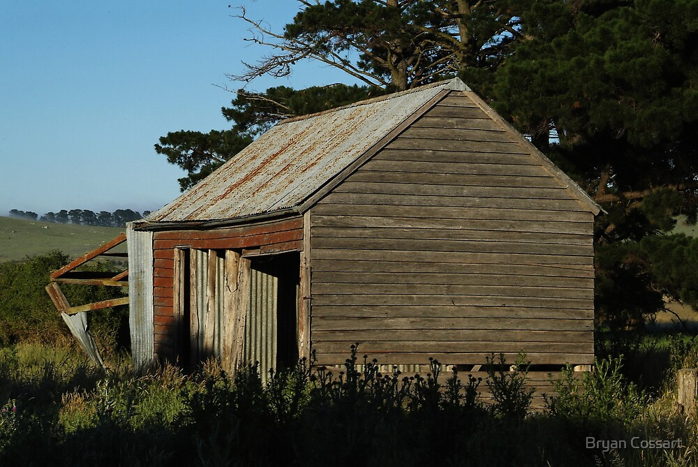 Bungendore Timber Shed by Bryan Cossart
