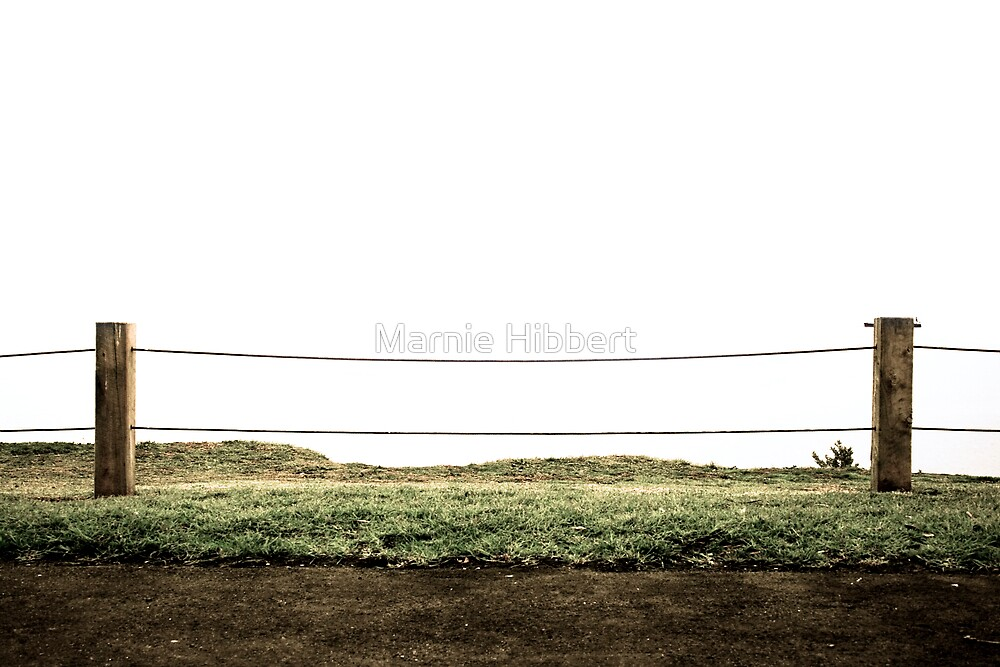 Empty Fence by Marnie Hibbert