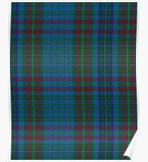 Watkins of Wales Clan/Family Tartan  Poster