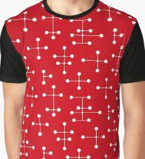 Midcentury Modern Dots 29 Graphic T-Shirt