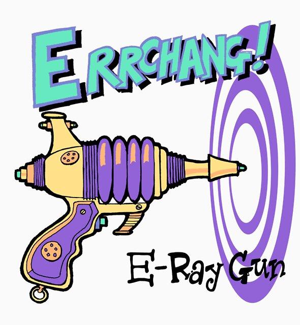 Raygun E by johnkratovil