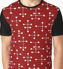 Midcentury Modern Dots 30 Graphic T-Shirt