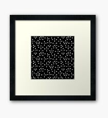 Midcentury Modern Dots 31 Framed Print