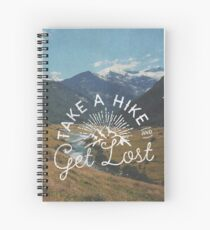 TAKE A HIKE Spiral Notebook