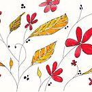 Autumn reds by Maree Clarkson