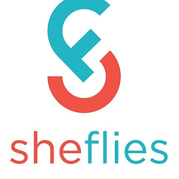 She Flies small logo with white text by SheFlies