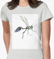 Mud dauber wasp Womens Fitted T-Shirt