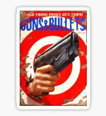 Gun and Bullets #05 Sticker