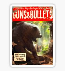 Gun and Bullets #08 Sticker