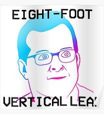 MBMBaM - EIGHT-FOOT VERTICAL LEAP Poster