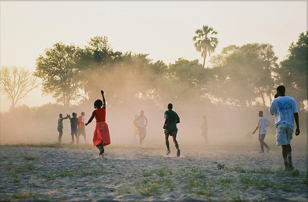 Bush soccer by CarolineKruger