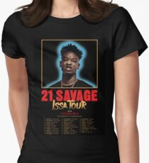 21 Savage Issa Tour Shirt Women's Fitted T-Shirt