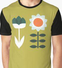 Set Sun Olive Graphic T-Shirt
