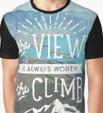 WORTH THE CLIMB Graphic T-Shirt