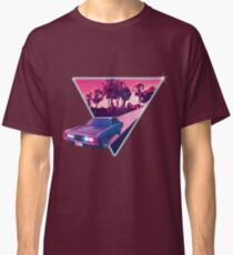 Nighdrifter retro wave car Classic T-Shirt