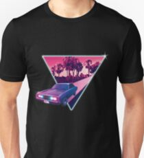 Nighdrifter retro wave car T-Shirt