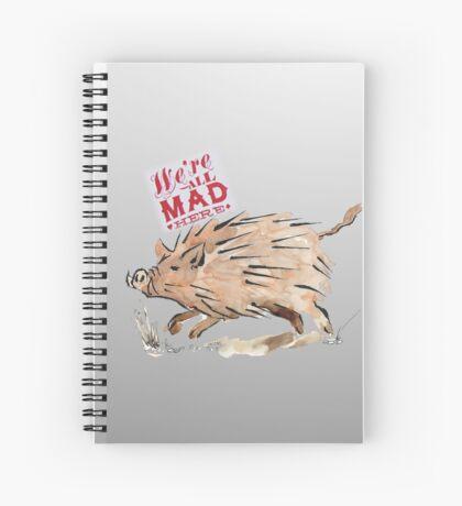 Warthog sketch Spiral Notebook