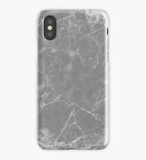Gray Grey Marble Real iPhone Case/Skin