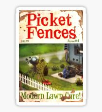 Picket Fences #04 Sticker