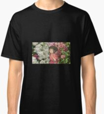 Spirited Away Flowers Floral Classic T-Shirt