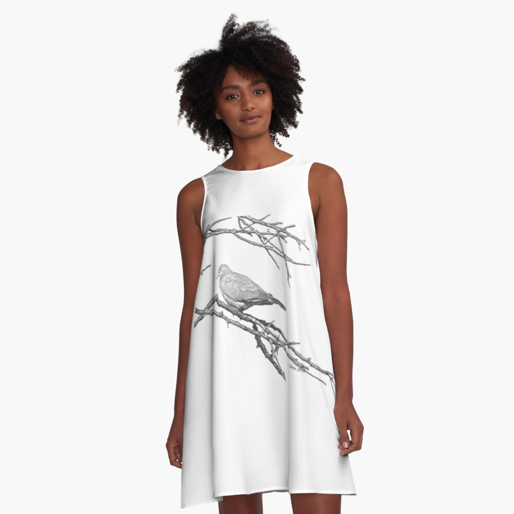 Why would you leave me...? A-Line Dress